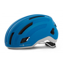 Sweet Protection Outrider Helmet Satin Bird Blue Metallic/White