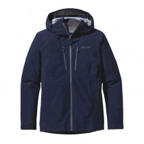 Patagonia M's Triolet Jacket Navy Blue W/Forge Grey