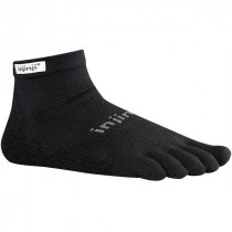 Injinji Run Lw Mini-Crew Black