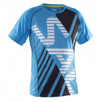 Salming Running Tee Men's Cyan Blue