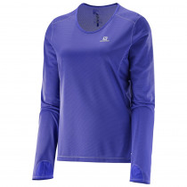 Salomon Trail Runner LS Tee W Phlox Violet