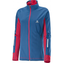Salomon Equipe Softshell Jacket Women's Dolomite B/Lotus