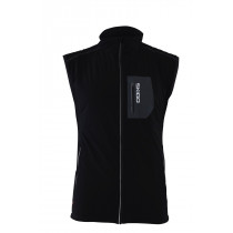 Skigo Men's Elevation Stretch Warm-Up Vest Black
