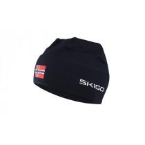 Skigo Crown Racing Hat Black