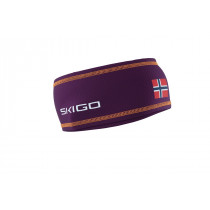 Skigo Crown Racing Headband D Purple