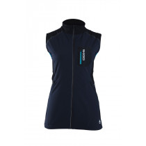 Skigo Women's Elevation Stretch Warm-Up Vest Navy