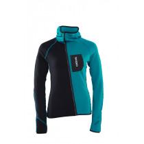 Skigo Women's Elevation Wool Fleece Jacket C Sea