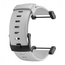 Suunto Core Crush Flat Rubber Strap White