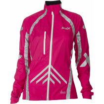Swix Vistech RaceX Elements jkt. Womens Bright Fuchsia