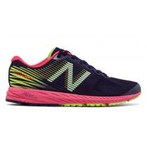 New Balance 1400v5 Dark Denim/Bright Cherry/Lime Glo