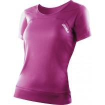 2XU Ice X S/S Run Top Rosa, Dame