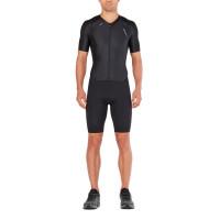2XU Comp Full-zip sleeved Trisuit M Black/Black