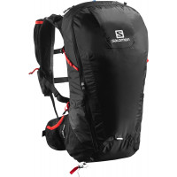 Salomon Peak 30 Black/Bright Red NS