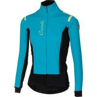 Castelli Alpha Ros W Jacket Turquoise/Black
