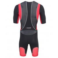 Huub Core Tri Suit Short Sleev Black/ Red - herre