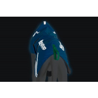 Non-Stop Dogwear Long Distance Jacket Primaloft Blue
