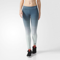 Adidas Miracle Sculpt Tights Utility Green/Vapour Green