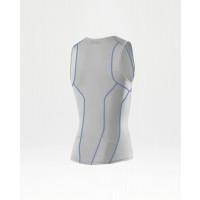 2XU G:2 Active Tri Singlet Men's White/Cobalt Blue