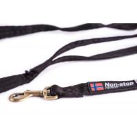 Non-Stop Dogwear Strong Leash Black 2 meter