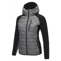 Peak Performance Women's Helium Hybrid Hood Jacket Melange Grey Melange