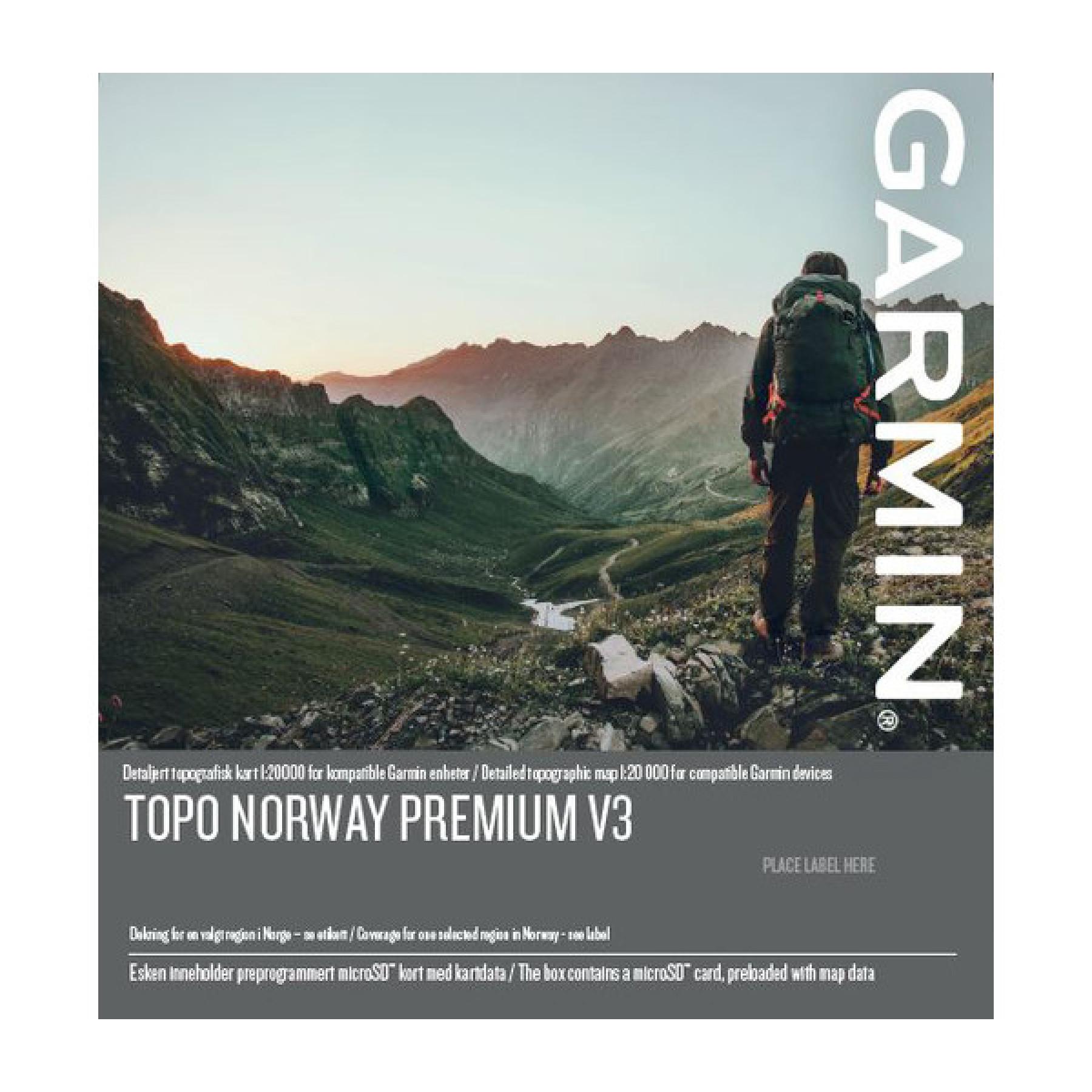 Garmin Topo Premium V3 8 Nordland Nord Fjellsport No