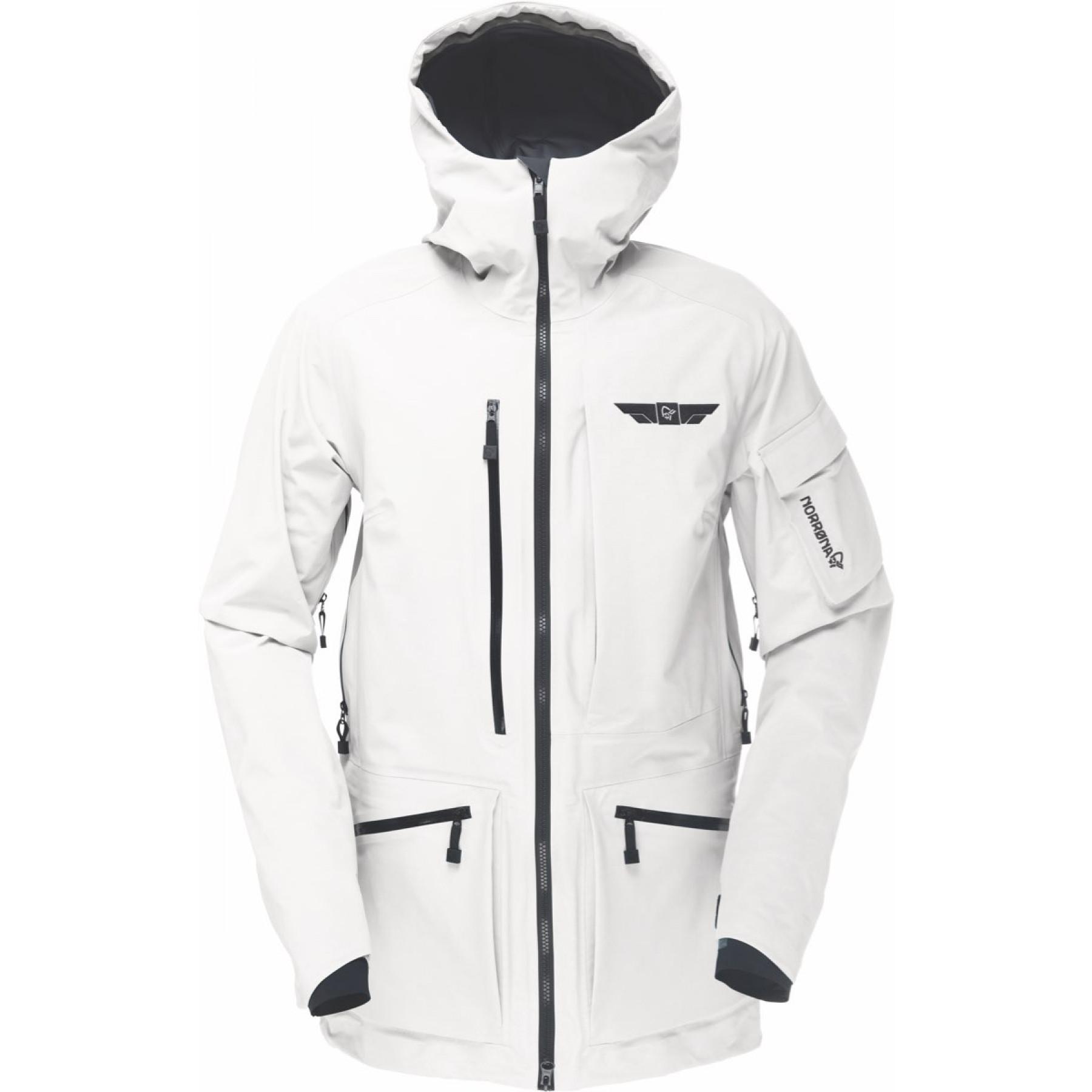 ef83c659 Norrøna Tamok Gore-Tex Jacket (W) Snowdrop | Fjellsport.no