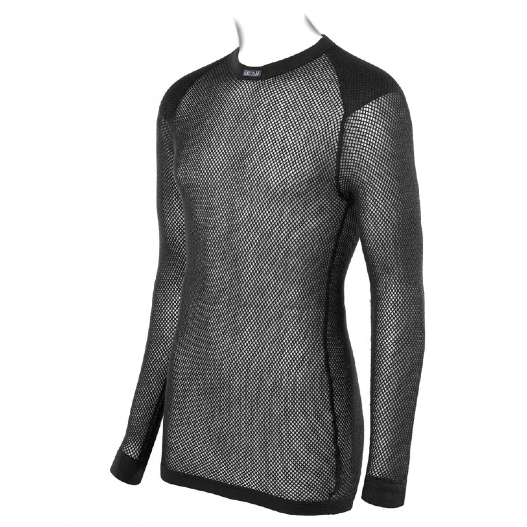 629e7cce Brynje Wool Thermo Shirt w/inlay Black | Fjellsport.no