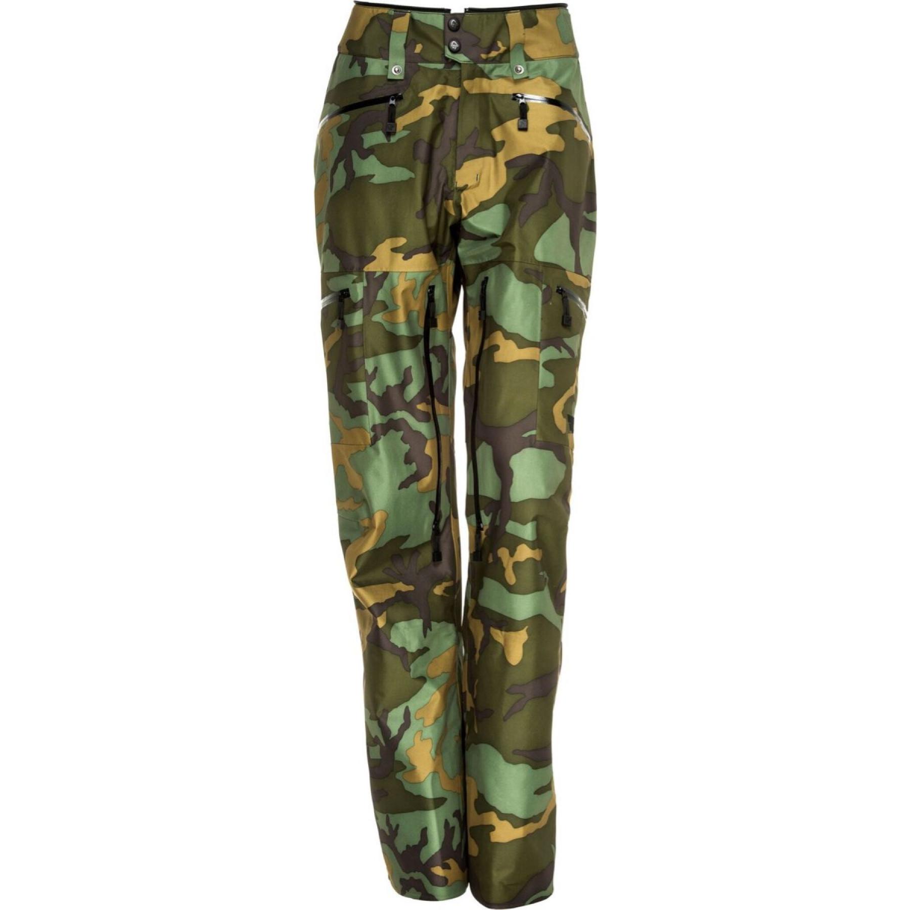 0e49d325 Norrøna Tamok Gore-Tex Pants Ltd (W) Green Camo