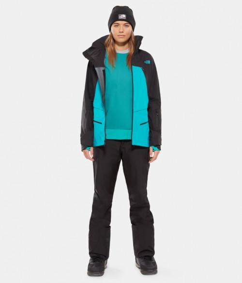 The North Face Women's Purist Jacket Kokomo Green/Tnf Black