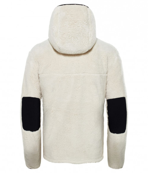 The North Face Men's Campshire Pullover Hoodie Vintage White/TNF Black