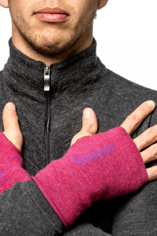 Woolpower Wrist Gaiter Cerise/Purple