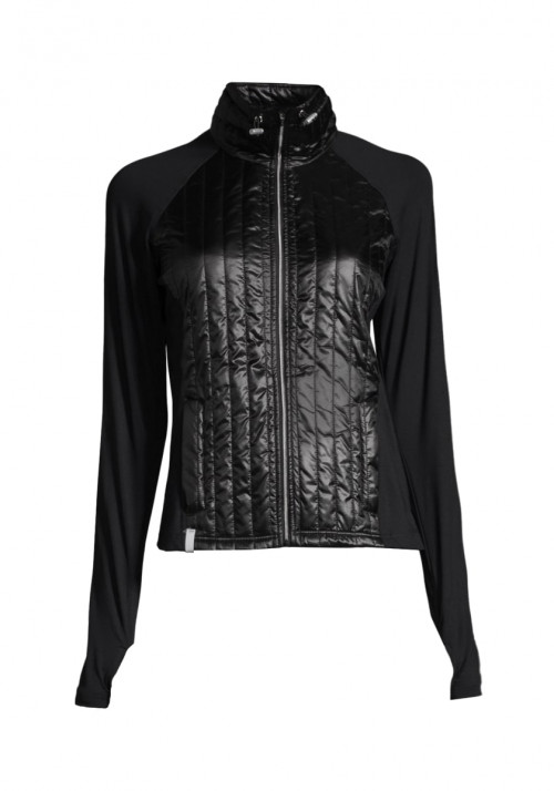 Casall Semi Padded Jacket Black