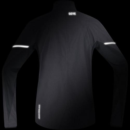 Gore® Wear Gore® R3 Partial Gore® Windstopper® Jacket Terra Grey/Black