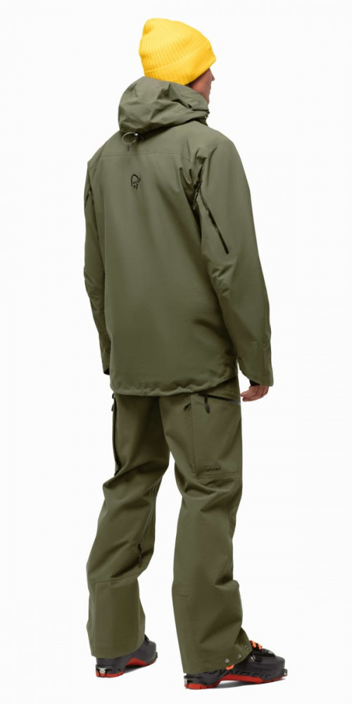 Norrøna Lofoten Gore-Tex Pro Plus Jacket M's Olive Night