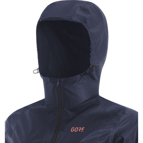 Gore® R7 Women Gore-Tex® Shakedry™ Hooded Jacket Storm Blue