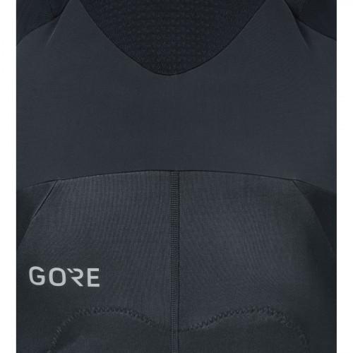 Gore® C7 Partial Gore® Windstopper® Pro Bib Tights+ Black