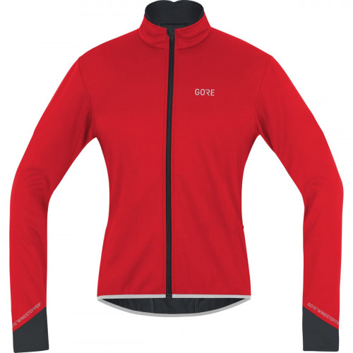 Gore® C5 Gore® Windstopper® Thermo Jacket Red/Black