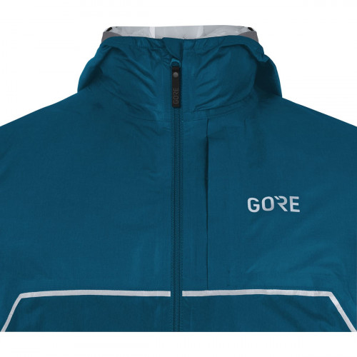 Gore R7 Gore-Tex Shakedry™ Trail Hooded Jacket Pacific Blue
