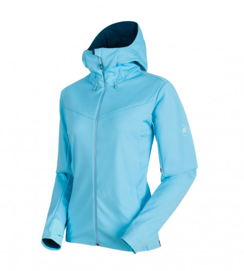 Mammut Ultimate V So Hooded Jacket Women's Whisper-Jay Melange