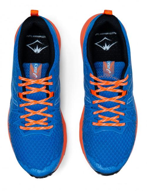 Asics Fujitrabuco Lyte Directoire Blue/Shocking Orange