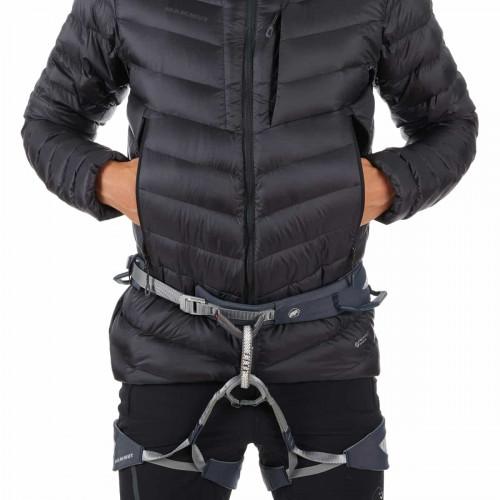 Mammut Broad Peak In Hooded Jacket Men Black-Phantom