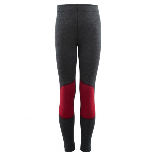 Aclima WarmWool Longs Junior Marengo/ Chili Pepper