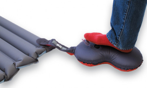 Exped Pillow Pump rubyred