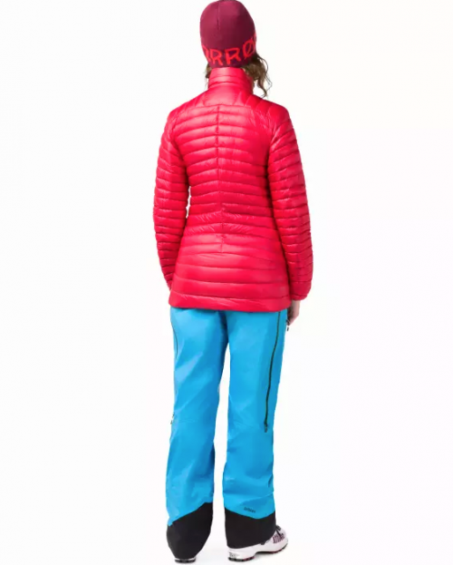 Norrøna Lofoten Super Lightweight Down Jacket (W) Crisp Ruby