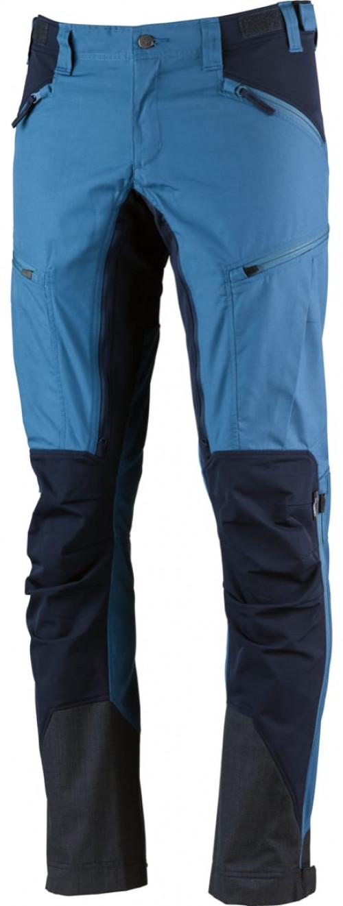 Lundhags Makke Mens Pant Azure/Deep Blue