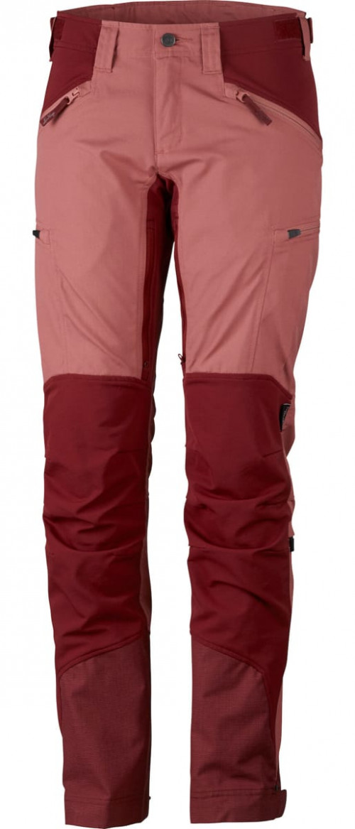 Lundhags Makke Women's Pant Crystal/Dk Red