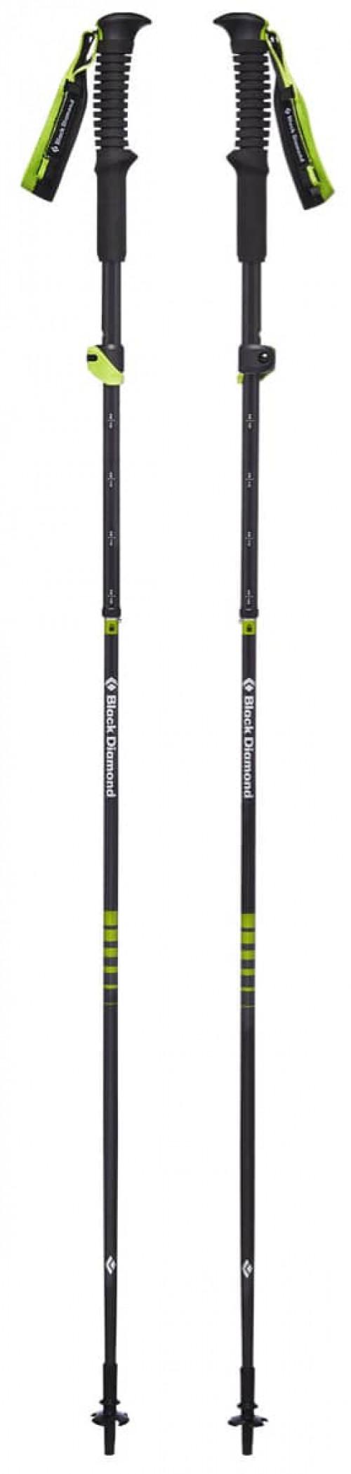 Black Diamond Distance Carbon Z Acc-Ready Pole Wasabi