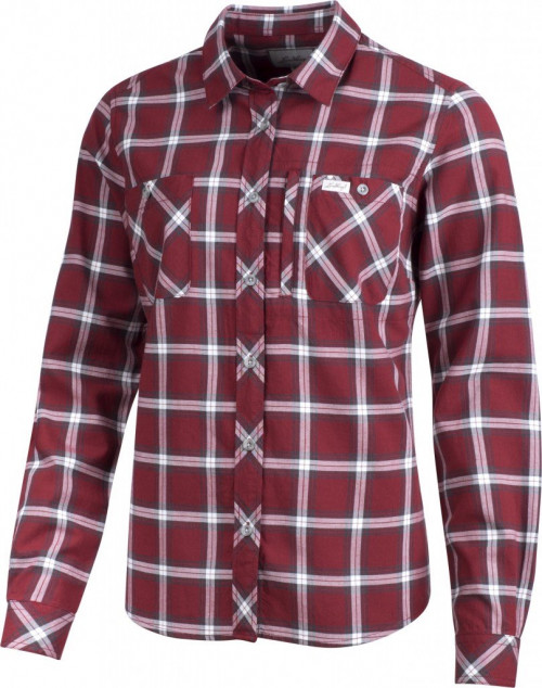 Lundhags Jaksa LS Women's Shirt Dark Red