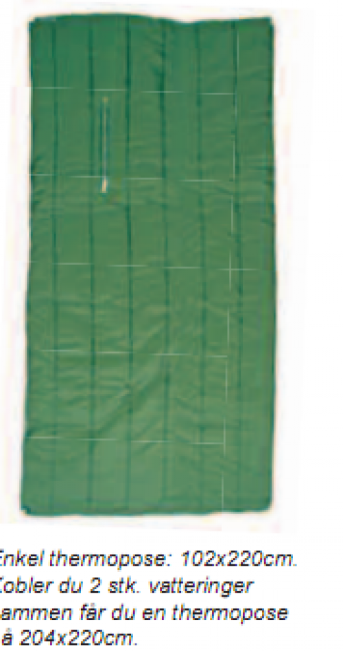 Jerven Jervenduken Exclusive Fjellkamuflasje 102x220cm