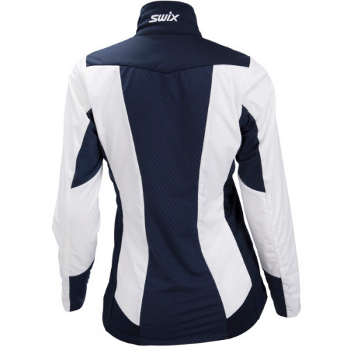 Swix PowderX Jacket Womens Snow White